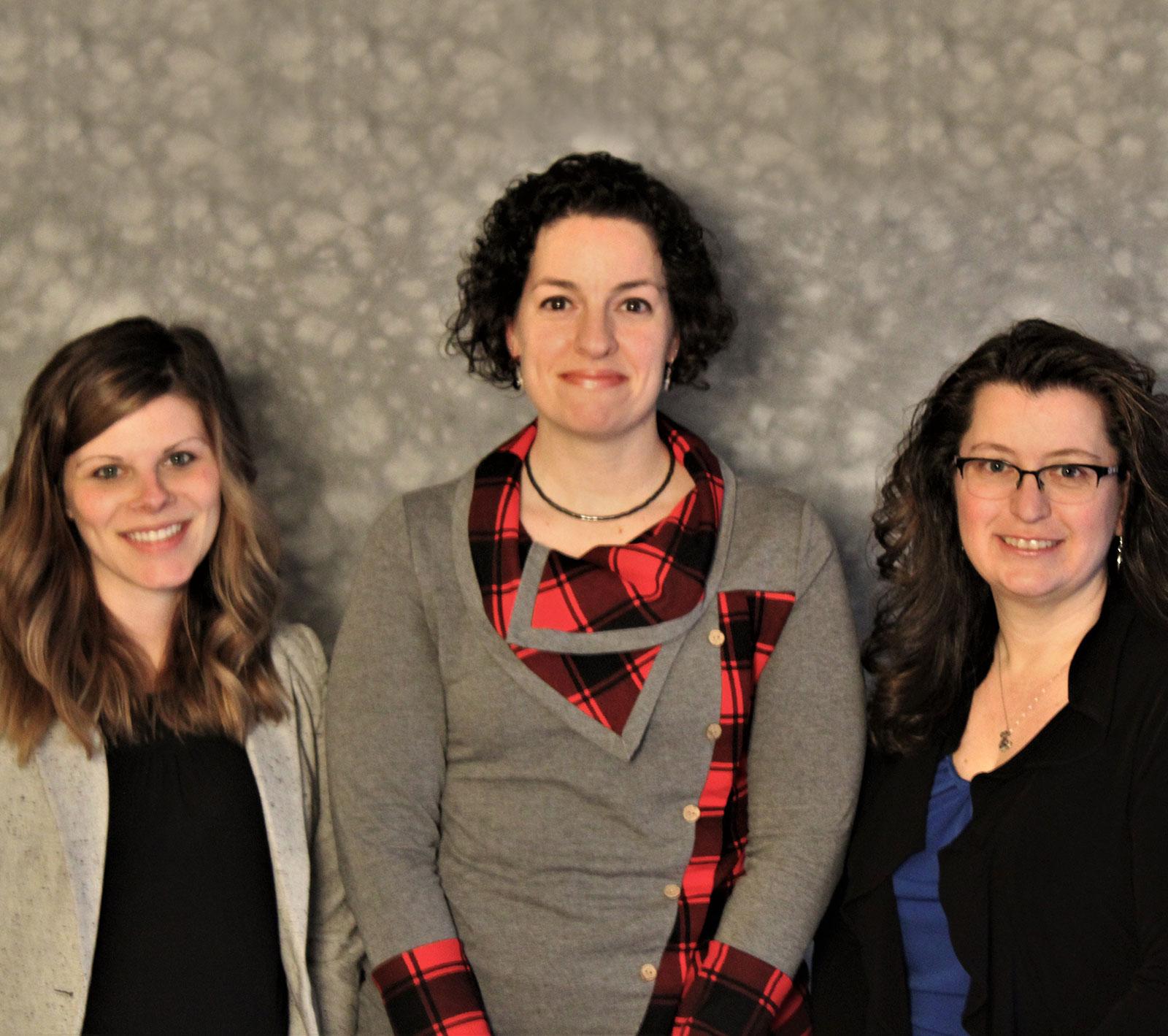 Staff: Caitlin Mullally, Laura Morse, and Samantha Eisentraut